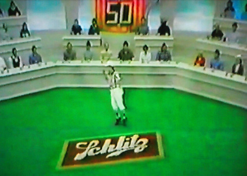 The 1981 live Great American Taste Test (Super Bowl XV)