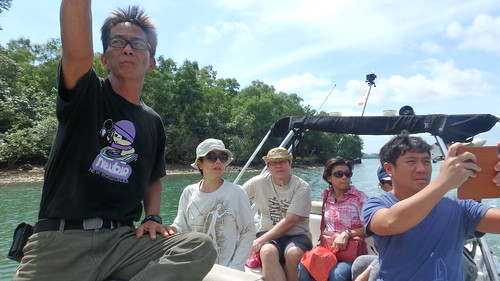 The Ubin Community working on long term monitoring after oil spill in East Johor Strait
