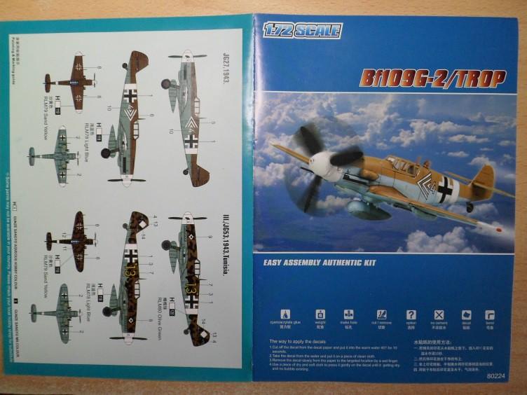 Ouvre-boîte Messerschmitt Bf 109 G-2 Trop [Hobby boss 1/72] 32723401395_54c686ac65_b