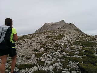 Flachere Passage Aufstieg Neunerspitze