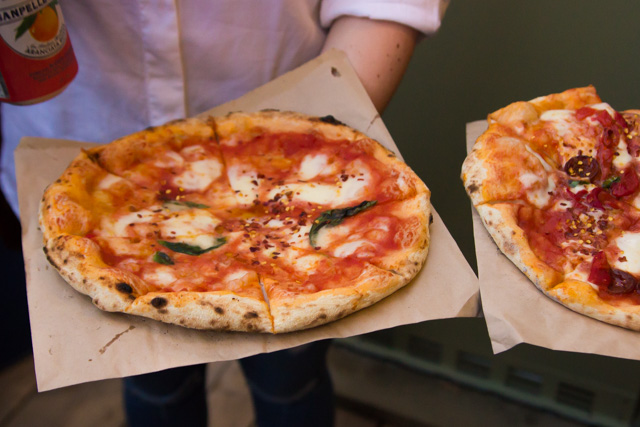 Pop Brixton street food Made Of dough Pizza