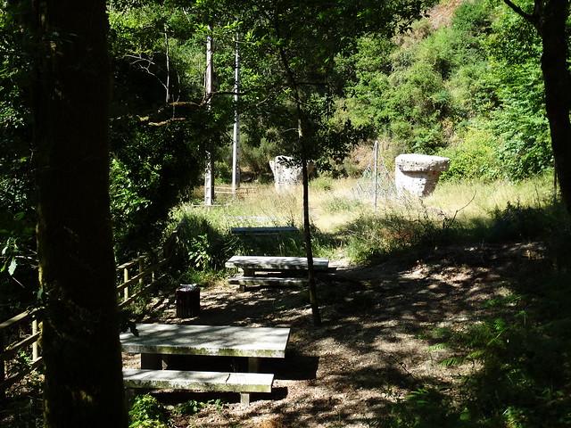 Área recreativa de As Pías en la ruta SM.08 Ambalasaugas - As Pías
