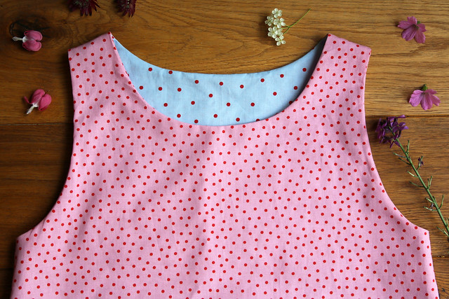 Lou Lou Dress Sewing Pattern Version C by English Girl at Home