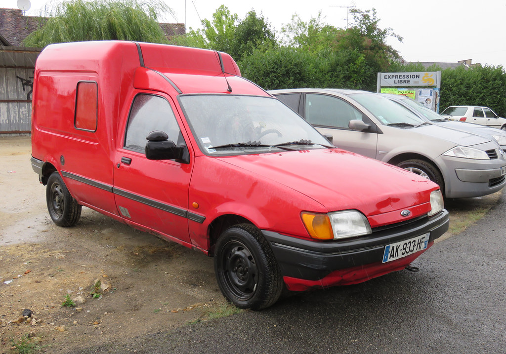 ford fiesta courier van now i look at this photo i should flickr. Black Bedroom Furniture Sets. Home Design Ideas
