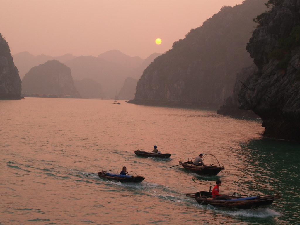 Vagamundos 2005. Vietnam. Halong Bay