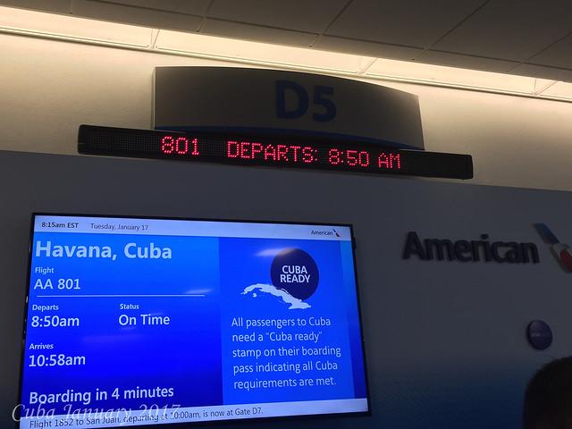 Cuba January 1017