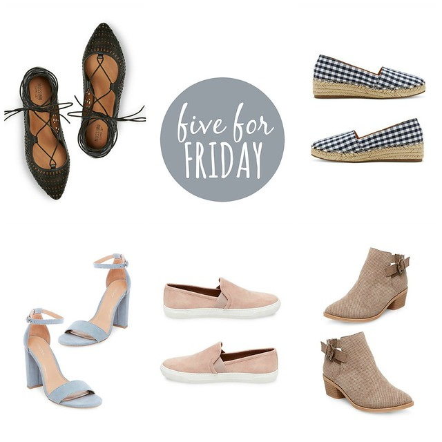 five for friday | 5 pairs of shoes you need from target this spring | Style On Target blog