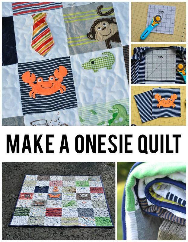 Make a Onesie Quilt
