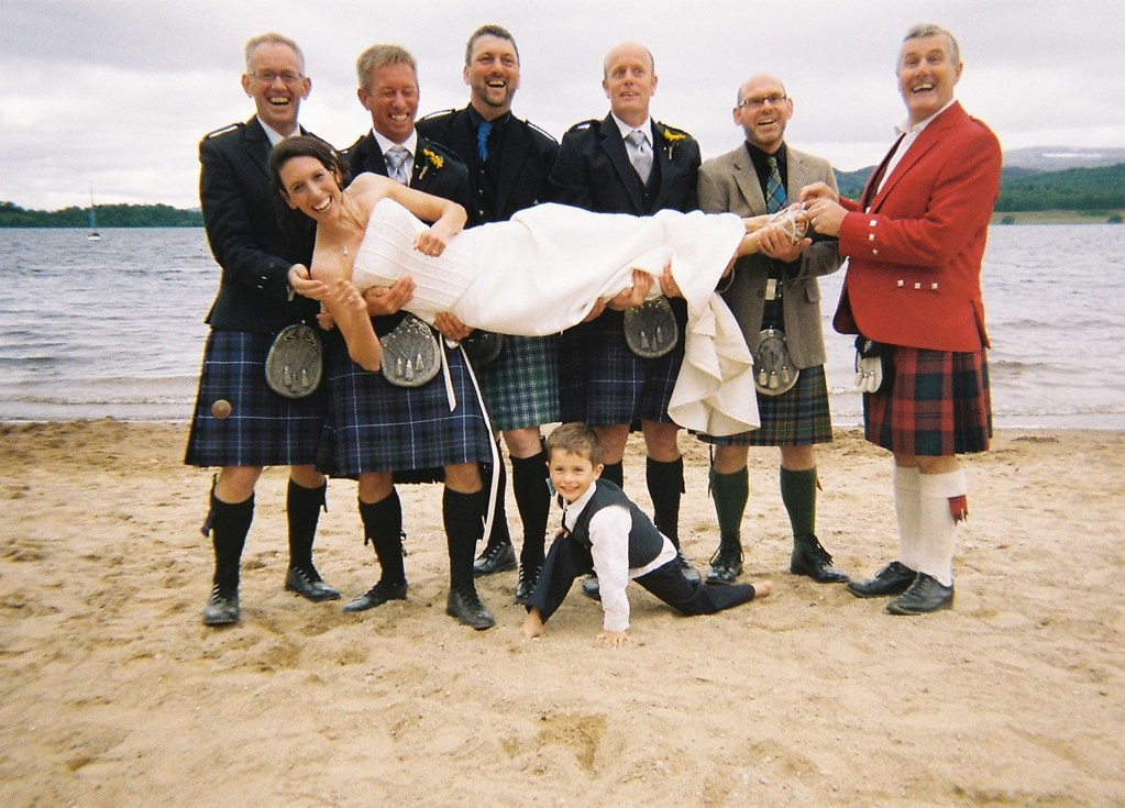 Steve and Sal Wedding Loch Insh