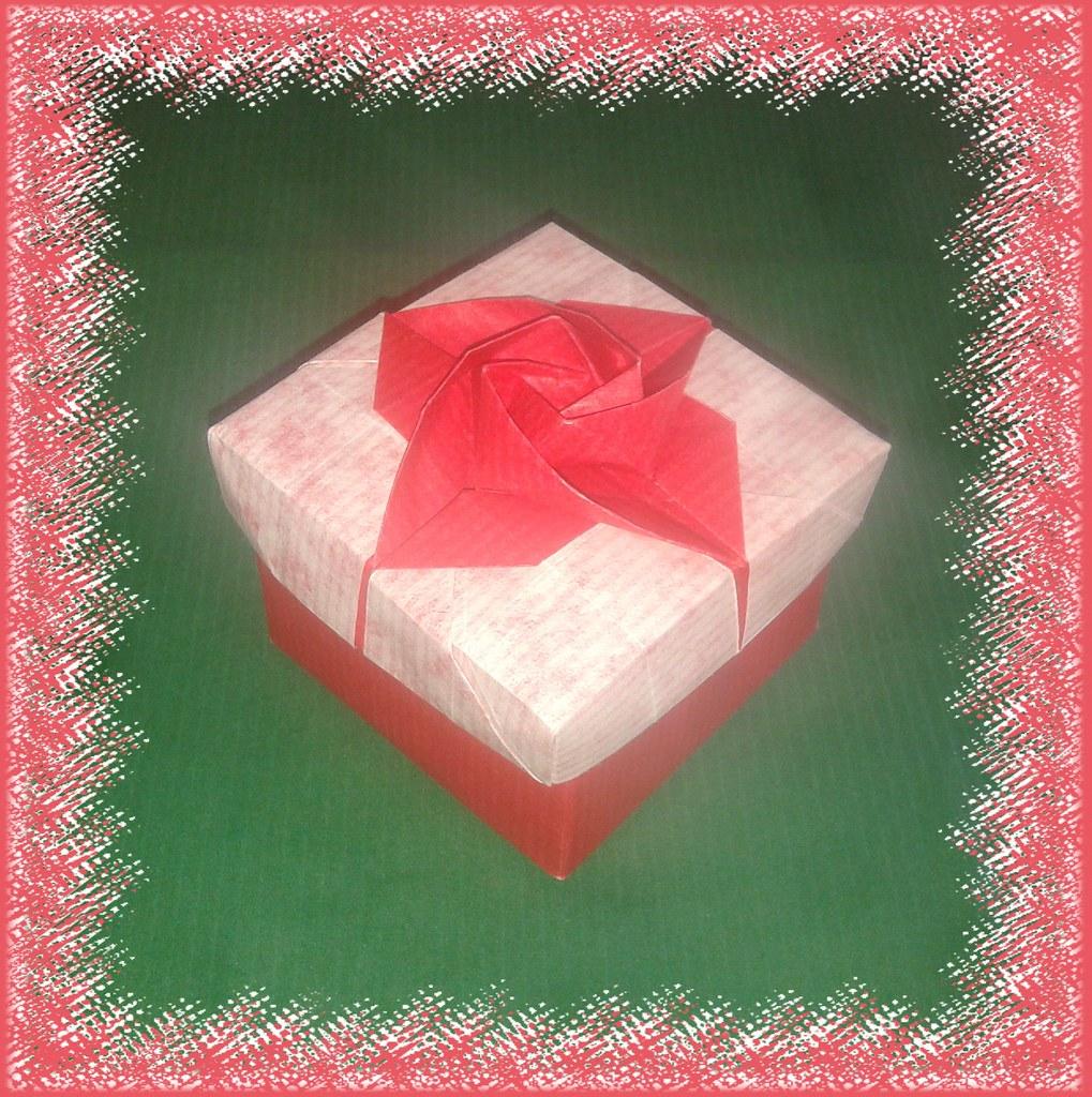 Origami Rose Box 3 By Shin Han Gyo Korea Vietnam Origami Flickr