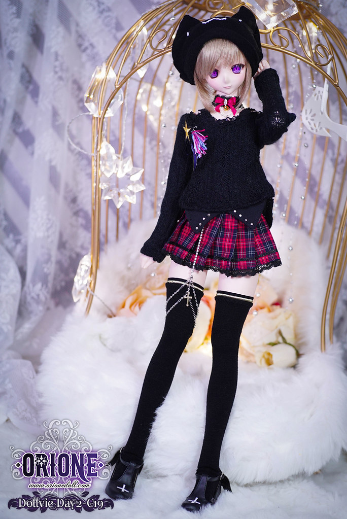 Dollfie Dream M/L outfit set — Hard candy