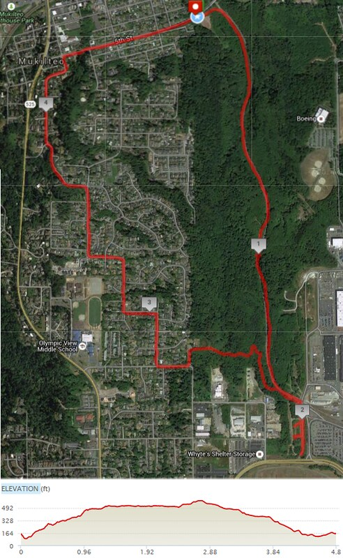 Today's awesome walk, 4.8 miles in 1:46, 10,317 steps, 586ft gain