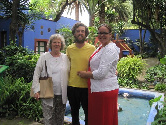 In Frida Kahlo's Blue Courtyard