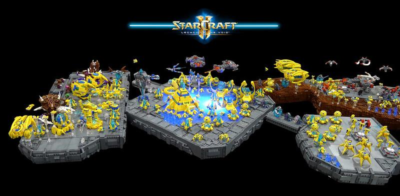 LEGO StarCraft - Protoss base