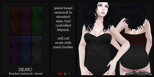 ~SongBird~ Kracken Swimsuit : Jewel | by ~SongBird~ In Second Life