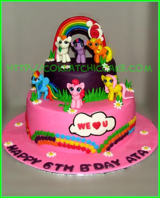 Cake pony