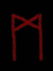 Runen 03 Tyrs Aett 20 mannaz