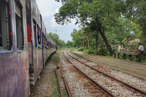 Riding Yangon's Circle Train