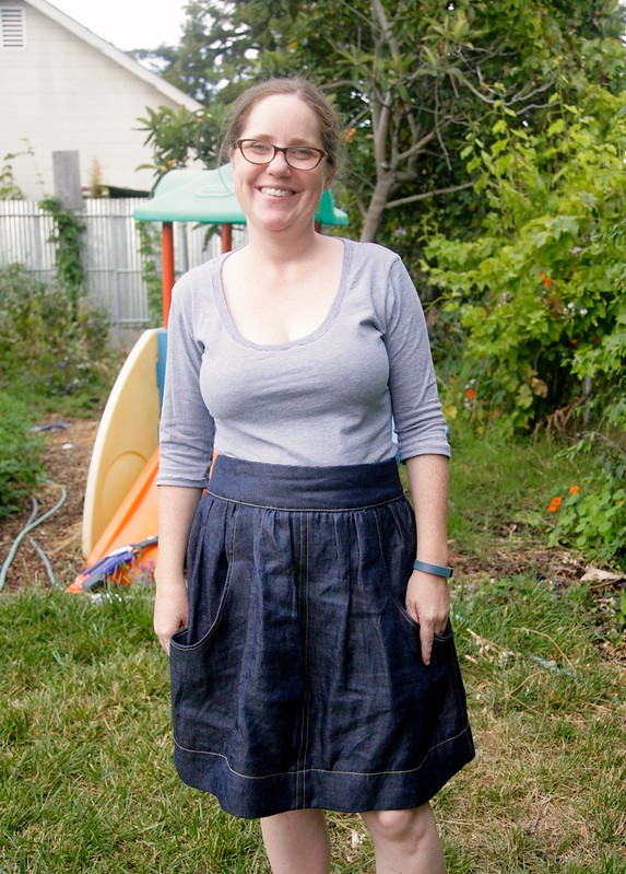 Brumby Skirt and Plaintain refashion.