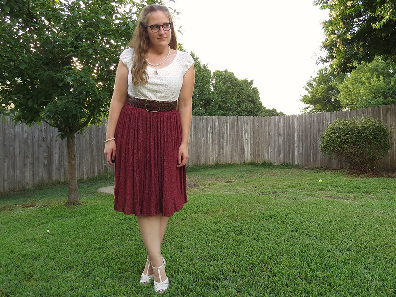 Vintage Inspired Dress - After