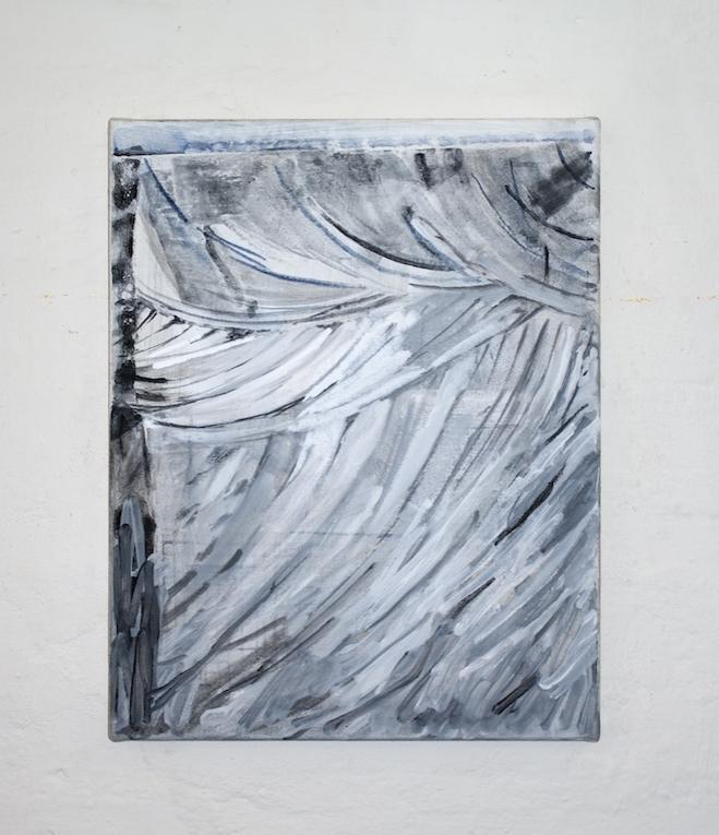 Tobias Buckel_Cache_2015_acrylics-glue-canvas_50x40cm