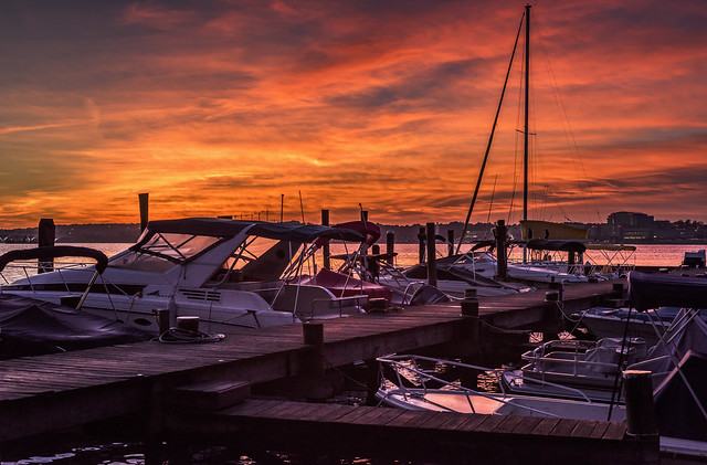 Dawn at the Dock