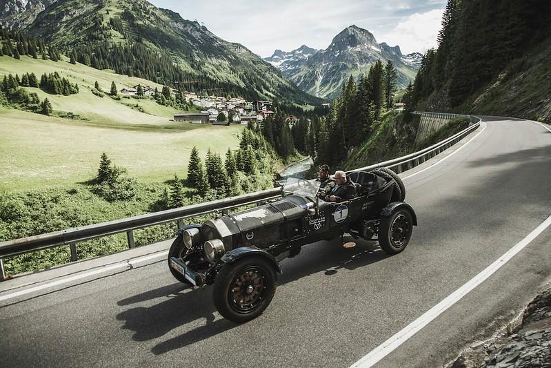 Arlberg Classic Car Rally 2015... die Stars sind die Cars