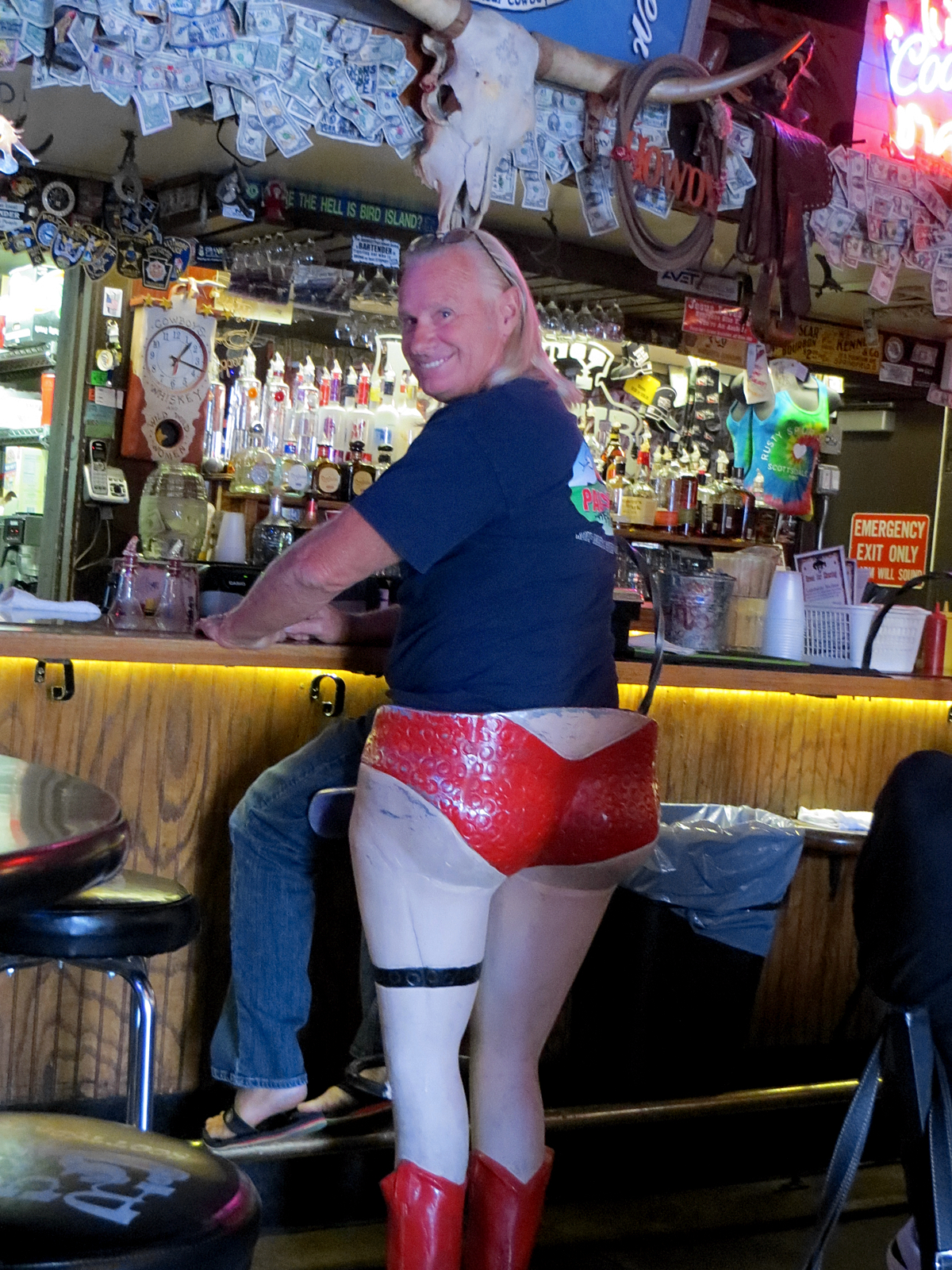 PIC: Rusty Spur Saloon - Unique Bar Stools