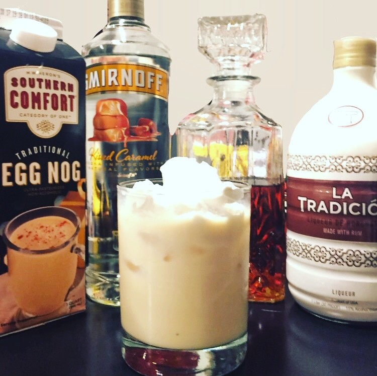 RumChata Egg Nog Cocktail