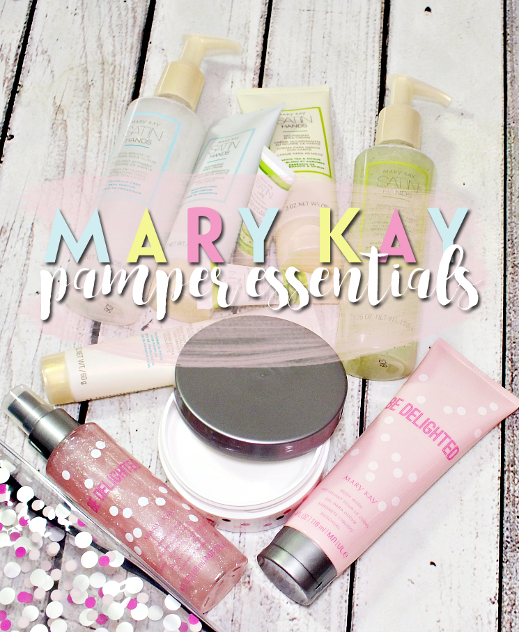 mary kay holiday 2016 pamper essentials