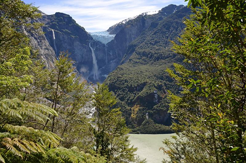 Ventisquero Colgante, Hanging Glacier, Quelat, Chile