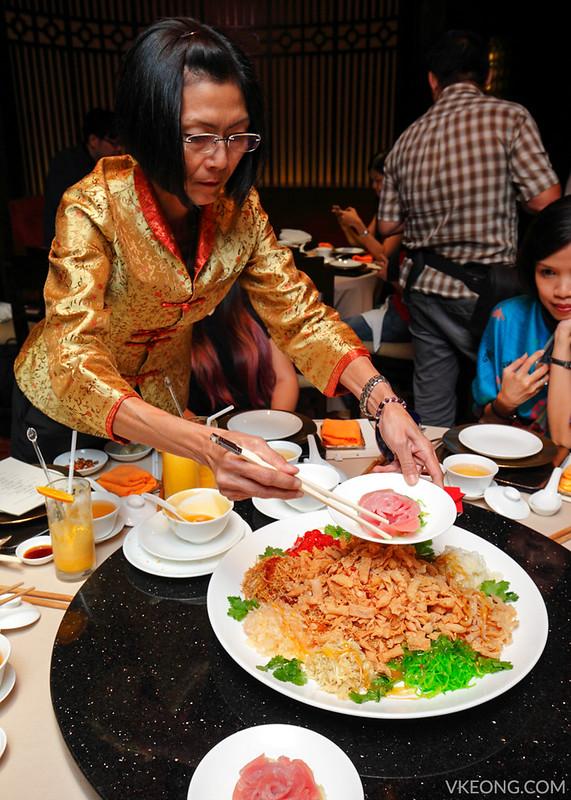 Li Yen Ritz Carlton Tuna Yee Sang
