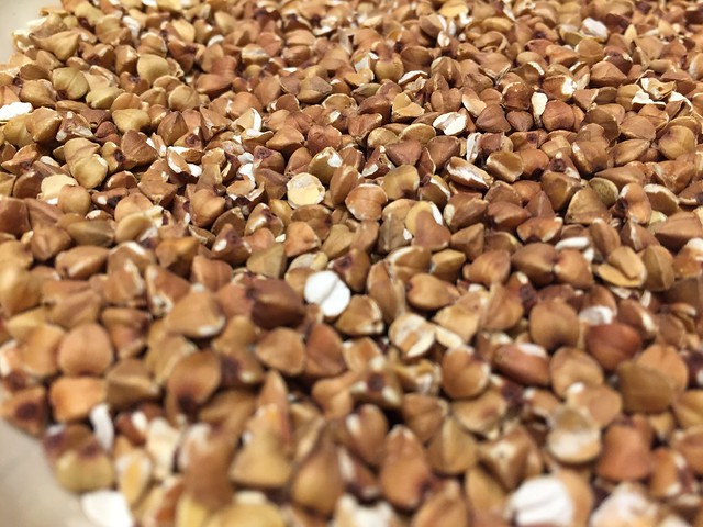 Toasted buckwheat groats