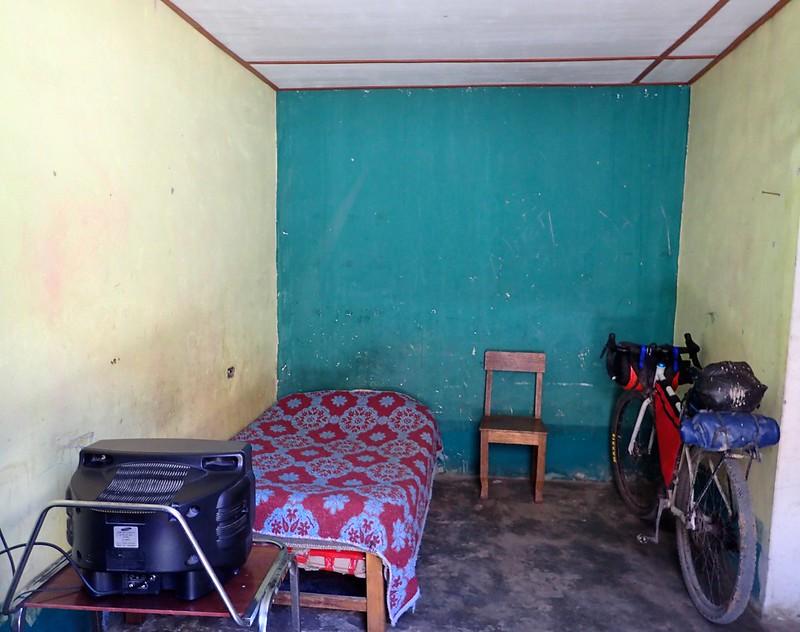 Mi habitación en una pensión de la Unión.