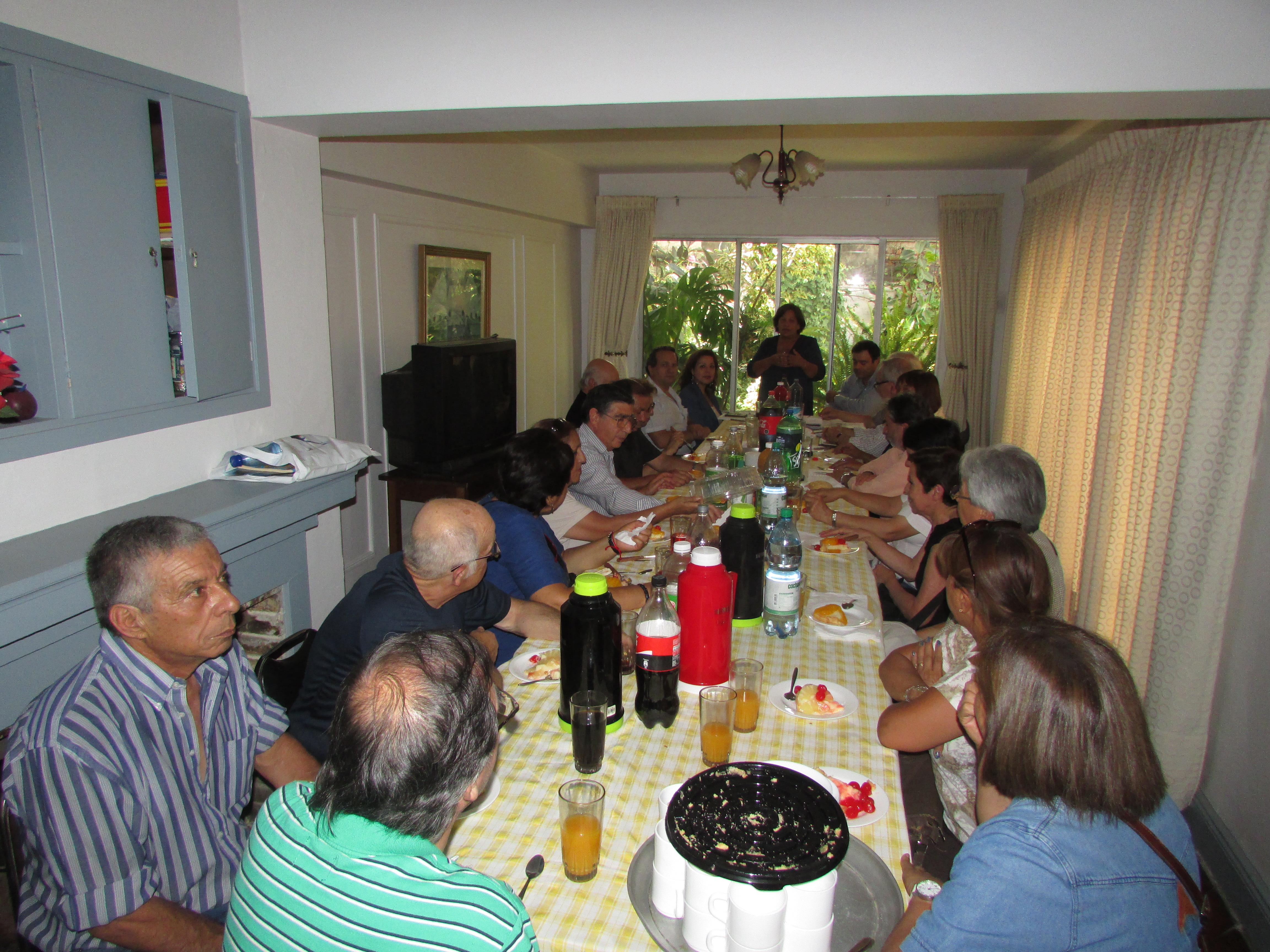 Directorio Nacional AET se reúne con Jubilados de la Tesorería General - 11 Enero 2017