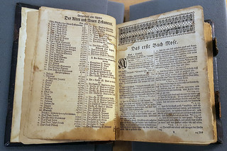 First pages of Christoph Sauer 's 1743 Bible