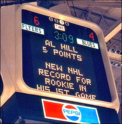 All Hill scoreboard