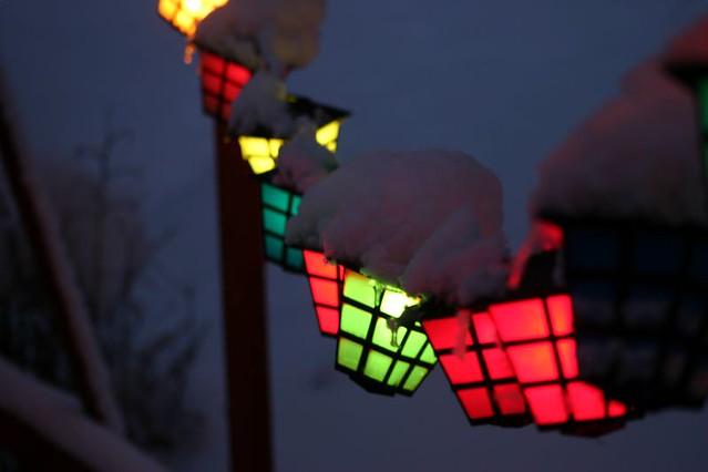 ... Patio Lantern II | By Travis Jon Allison