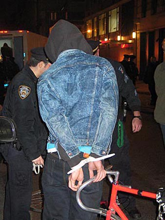 Critical Mass Bike Ride Arrests - NYC | by everyday_i_live