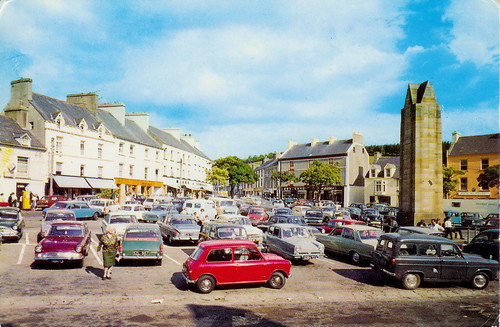 Donegal Town: The Diamond 1973 | by bettlebrox
