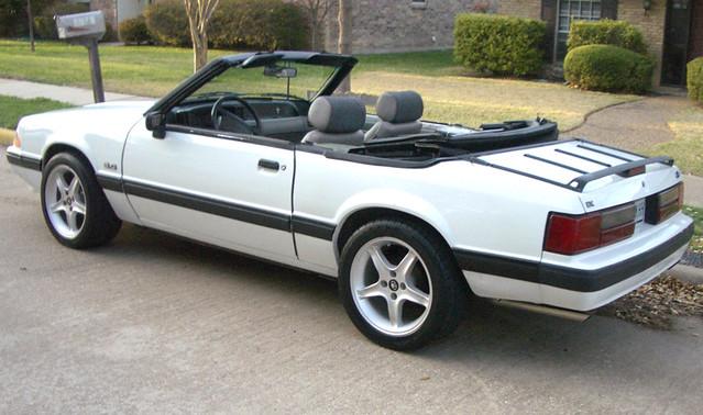 91 Lx 5 0 Vert 1991 Mustang Lx 5 0 Convertible 8