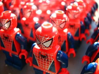 Army of Spidermen | by alykat