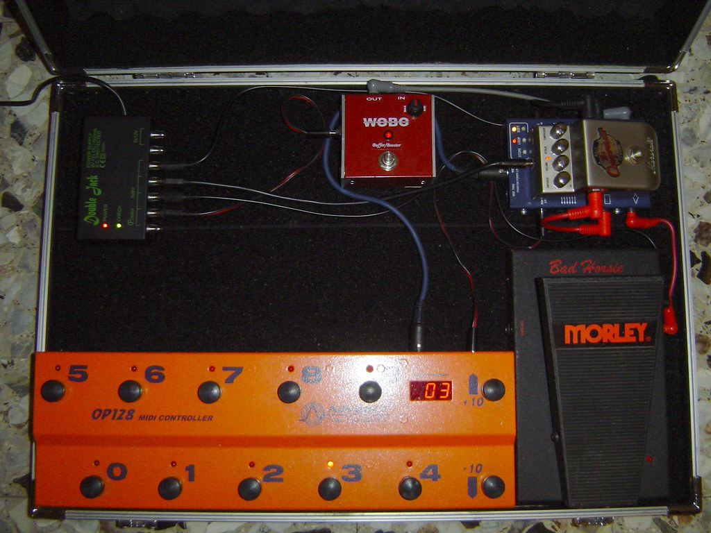 My Pedal Board Wobo Buffer Booster Advance Midiloop Co Flickr Wiring A By Soloist