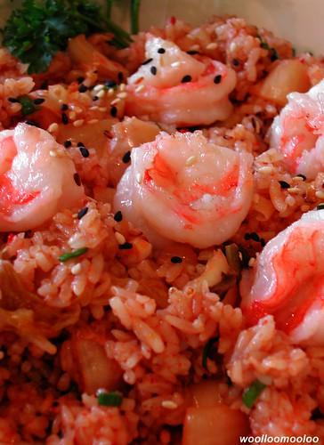 kimchi shrimp fried rice | kimchi fried rice with shrimp i k ...