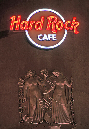 hard rock cafe lisbon sign of the hard rock caf at cond flickr. Black Bedroom Furniture Sets. Home Design Ideas