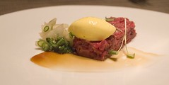 First Course: Hangar Steak Tartare | by ulterior epicure