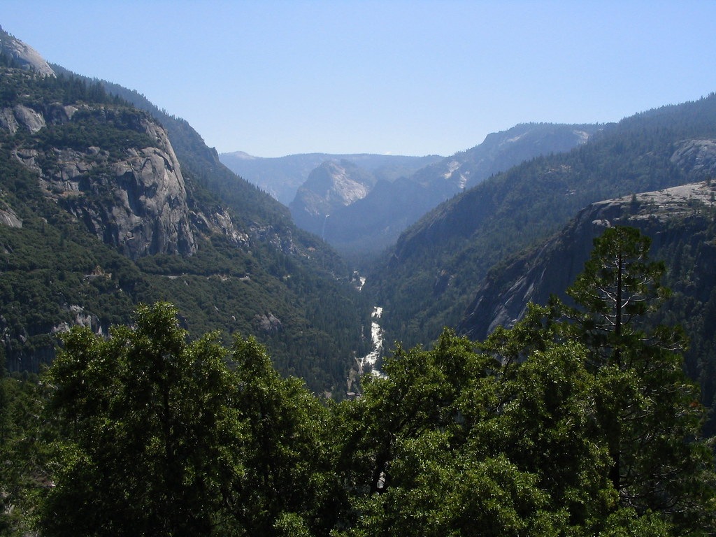 Valley View El Portal Road View Of Merced River Entranc