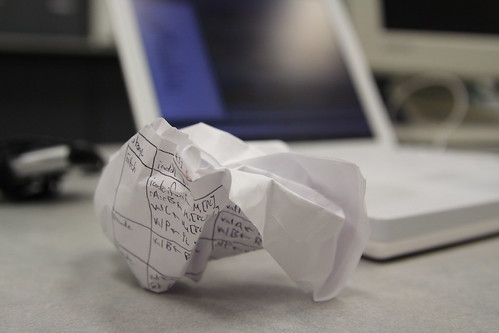 Crumpled Frustration | by Aaron Jacobs