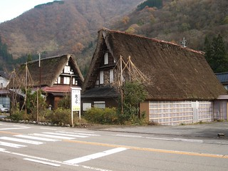 Gassho-style inn in Kaminashi | by tsuda