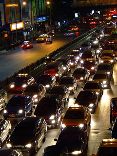 Bangkok traffic jam | by Keng Susumpow
